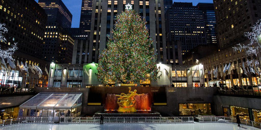 Sapin Rockefeller Center 240cm